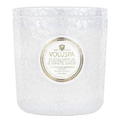 Eucalyptus & White Sage Luxe 30 oz.
