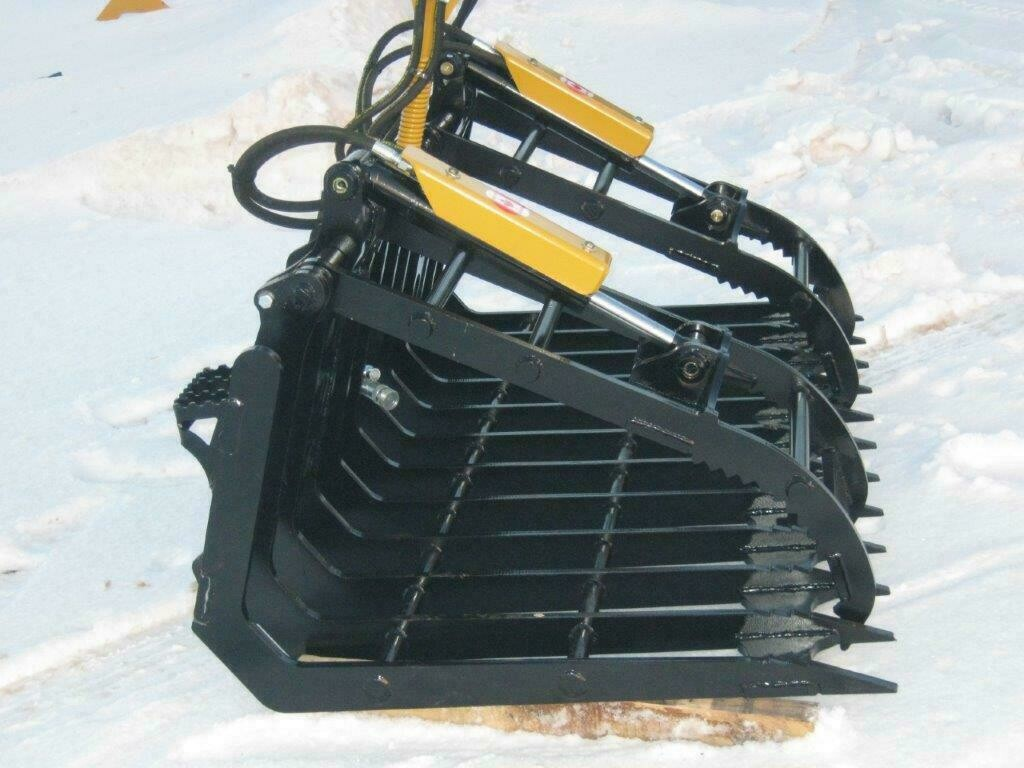 Skid Steer & Tractor Debris Grapple