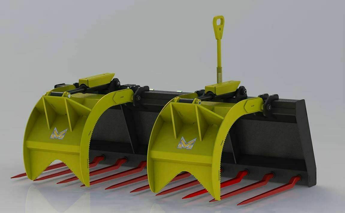 Skid Steer & Tractor Manure Forks