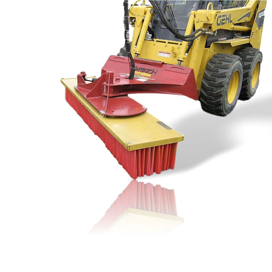 Skid Steer & Tractor Push Broom