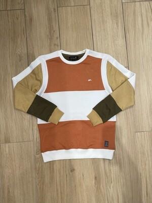 A.TIZIANO   REX | Long Sleeve Crewneck Sweater