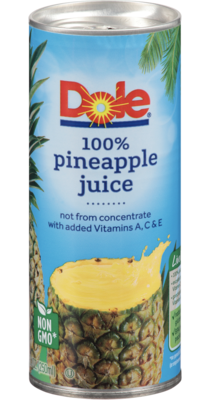 D 100% Pineapple Juice 250ml
