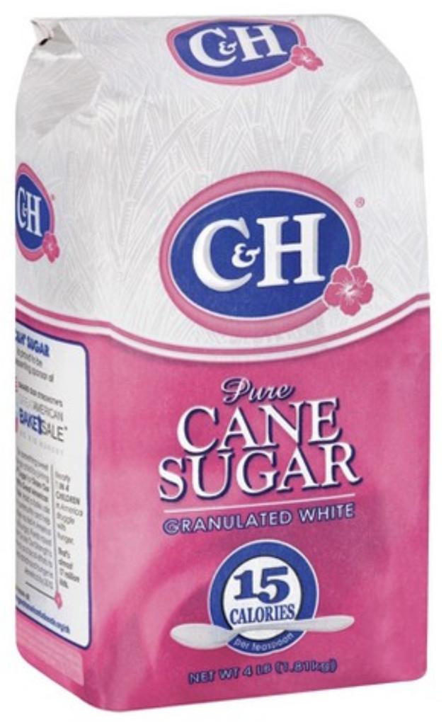 C&H Pure cane Sugar 4lbs