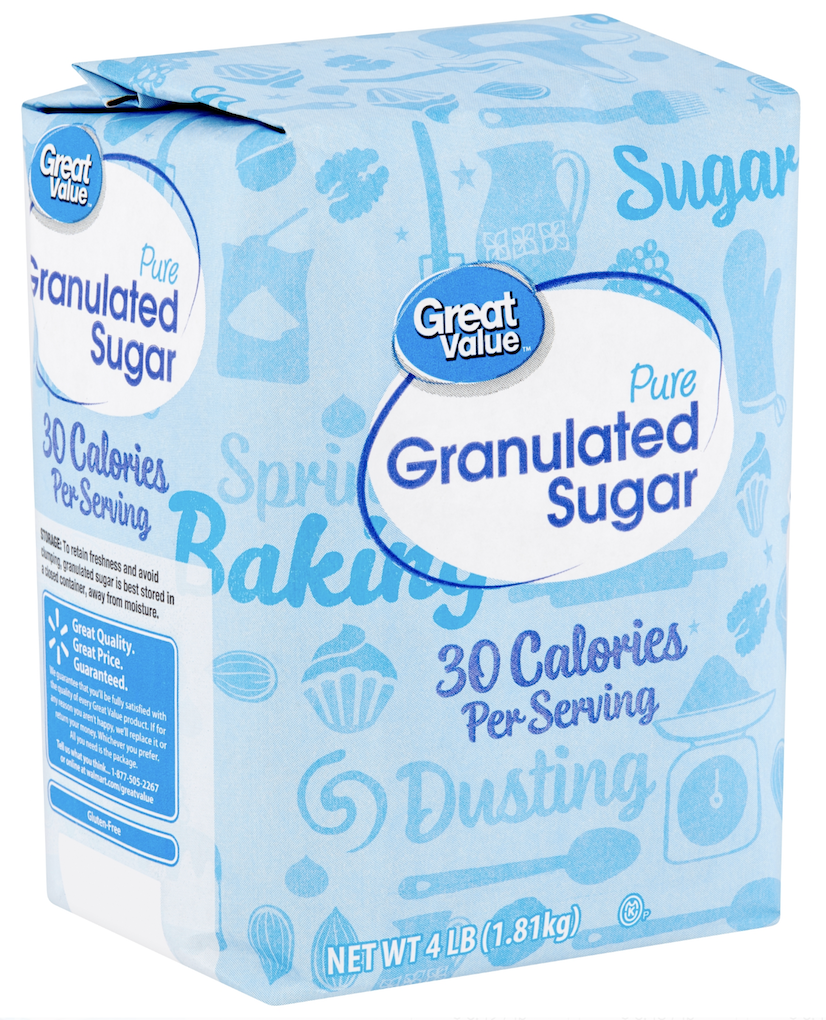 Pure granulated sugar 4lbs