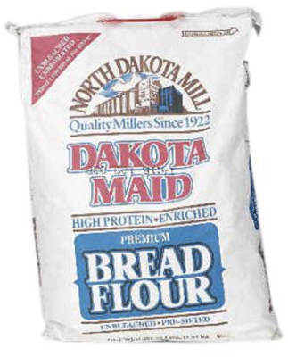 Dakota maid bread flour 25lbs