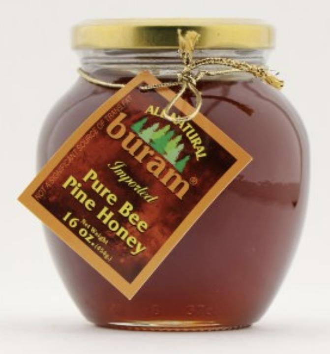 Buram Pure Bee Pine Honey 454g