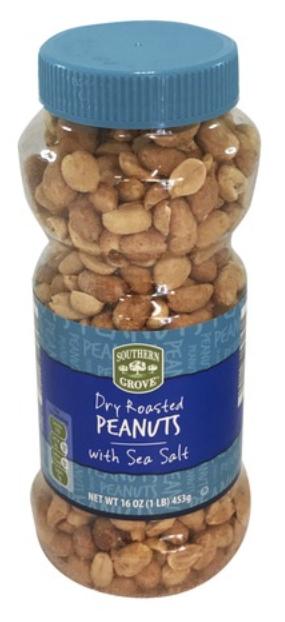 SG Dry Roasted Peanuts Sea Salted 454g