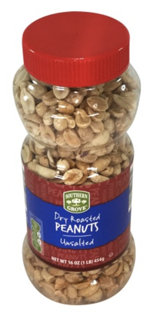 SG Dry Roasted Peanuts Unsalted 454g