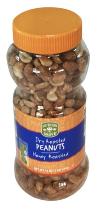SG Dry Honey Roasted  Peanuts 454g