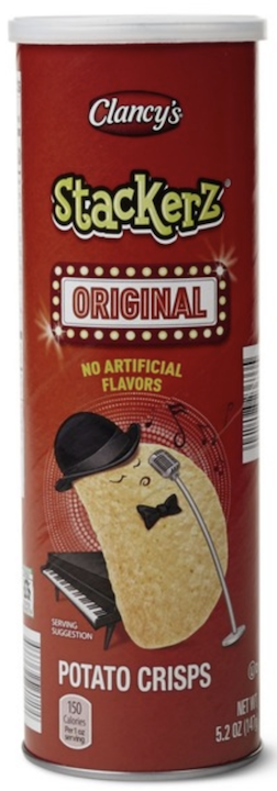 C Stackerz Orgnal Potato Crisps 147g