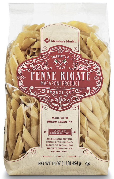 MM Italy Penne Rigate Macaroni 1lb