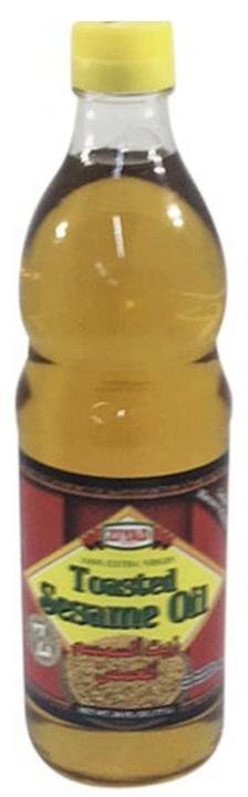 Sesame oil toasted 100% extra virgin ziyad 26oz