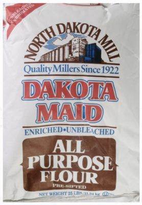 Dakota Maid All Purpose Flour 25lbs