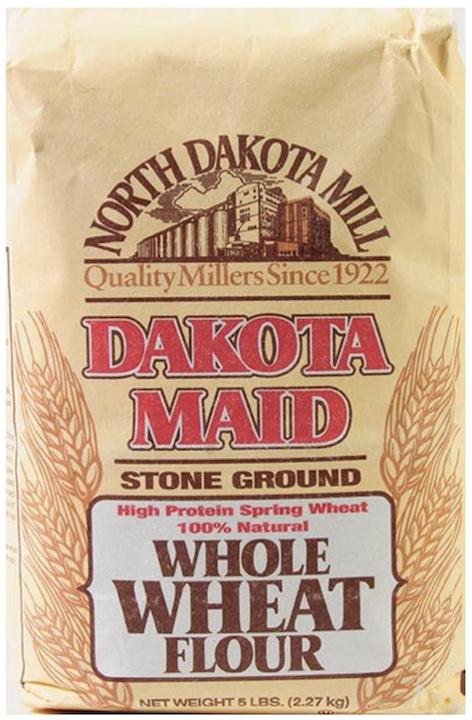 Dakota Maid Stone Ground Whole Wheat Flour 5LBS