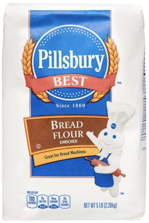 Pillsbury bread flour enriched 5LBS