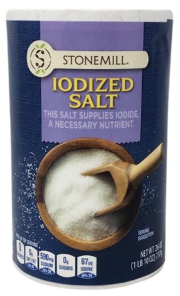 Iodized Table Salt 1lb