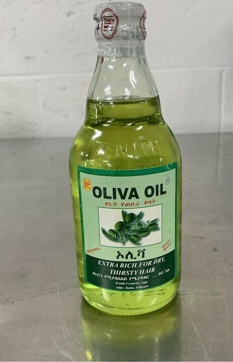 Oliva Hair Oil (zenith) ወይራ ጸጉር ቅባት 330ml