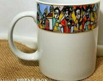 6 pcs Saba abyssinian mugs 11oz