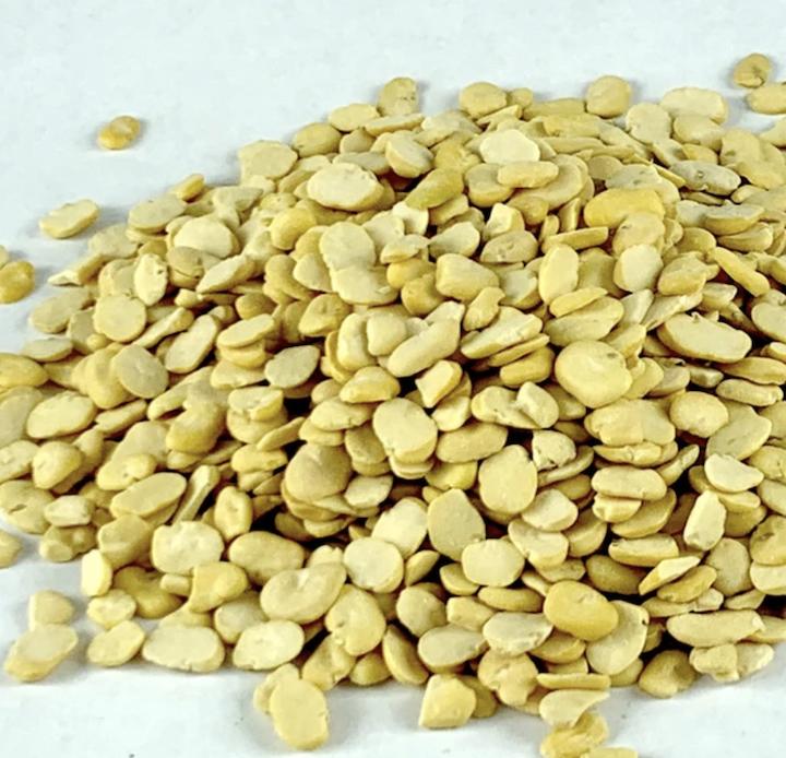 Split fava bean (dry bakela kik) 1lb bag