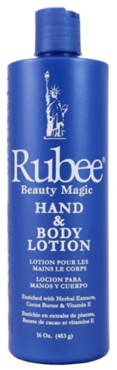 Rubee Body & Hand Lotion 16oz