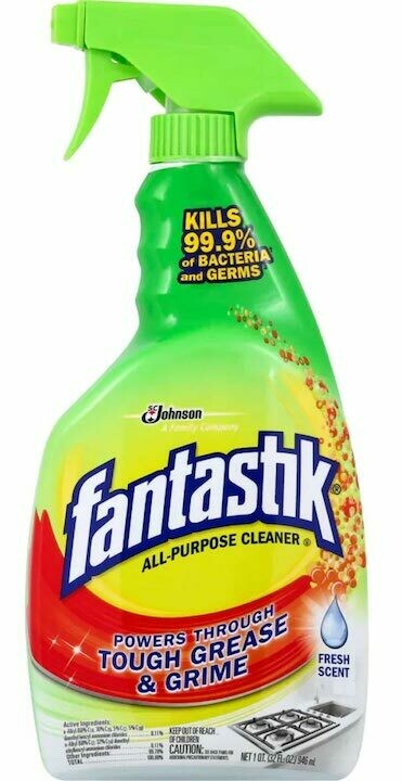 Fantastik APC kills 99.9% V&B Spray
