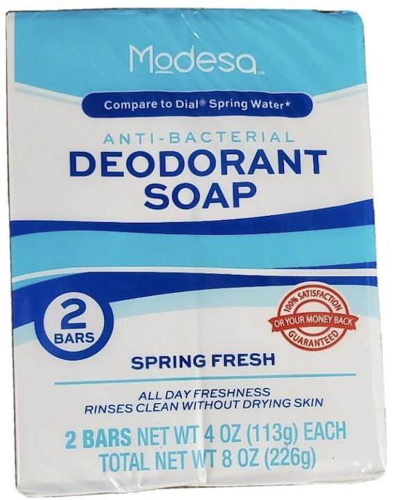 Modesa Anti-Bacterial Deodorant Soap 2BR 4oz