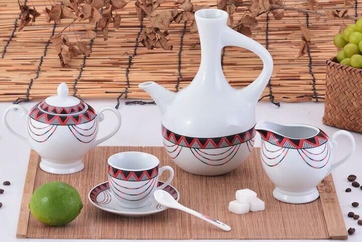 23 pcs Aba Geda coffee set