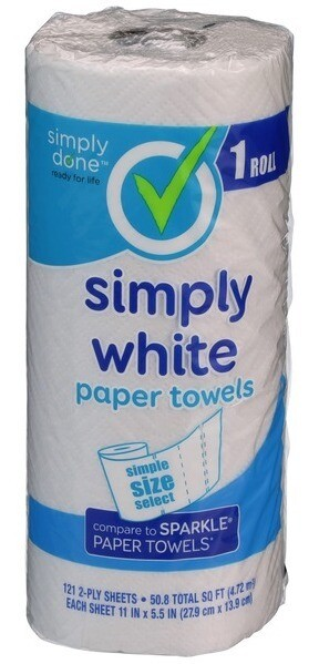 Simply White Paper Towels