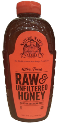 Honey 100% pure raw & unfiltered 1.247g