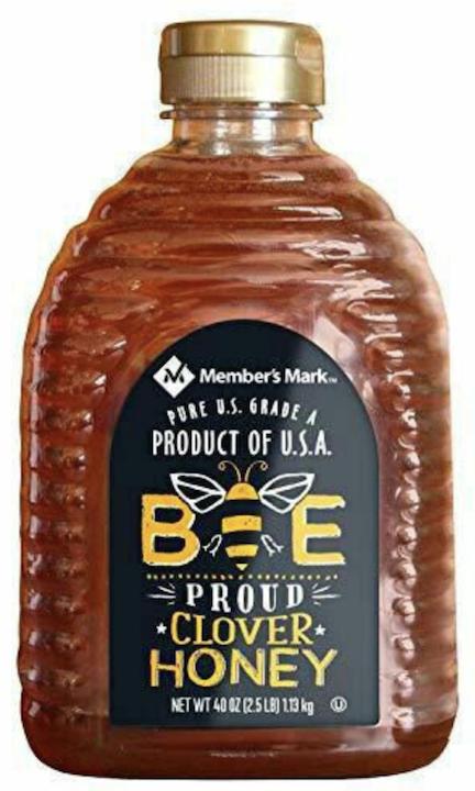 MM Pure U.S. Grade A bee proud Clover Honey 40oz