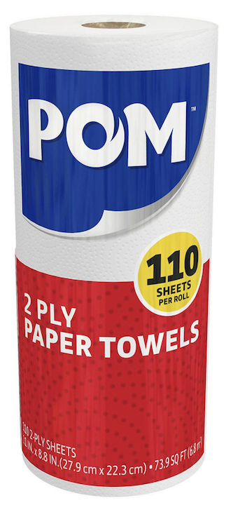 Pom Paper Towel 110 sheets per roll