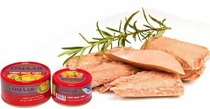 Omaar Brand Solid Light Tuna fish meat 200g