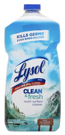 Lysol APC Kills 99.9%V&B CoolAirScent 40oz