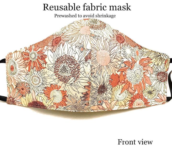 Fabric Face Masks washable 1 Size Unisex
