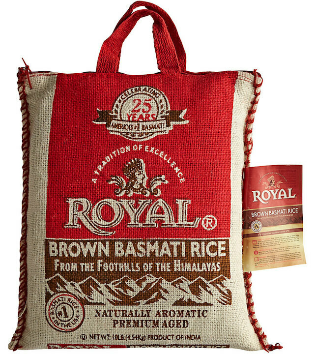 Royal brown basmati rice 10lbs
