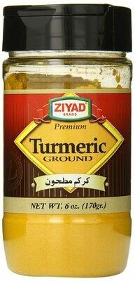 እርድዱቄት Turmeric powder ziyad 170g btl