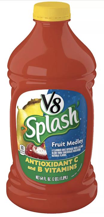 V8 Splash Fruit Medley Juice 1.89L