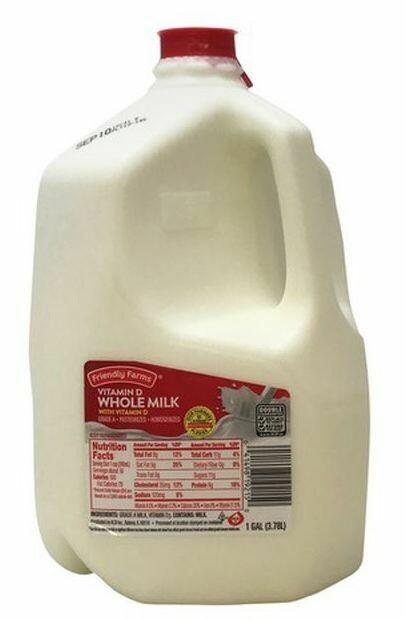 Whole Milk Vitamin D 1GAL (3.78L)