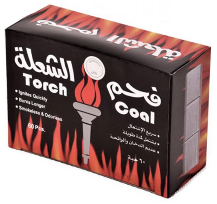 Torch Coal 60 Pcs