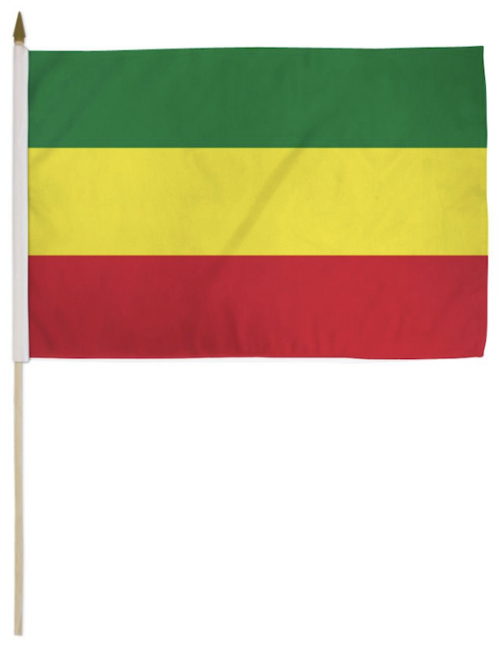 Ethiopian Flag nylon cloth