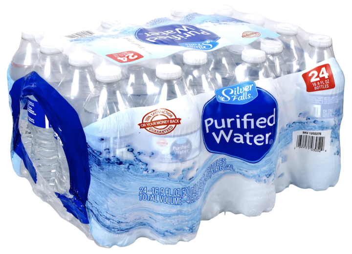 SF Purified Water 16.9 oz 24PK