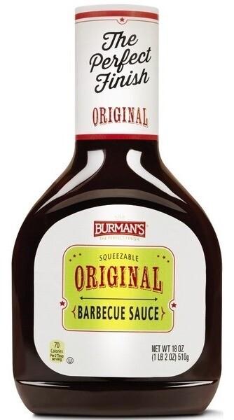 Burman's Original BBQ Sauce