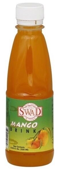 Swad Mango Drink ማንጎ መጠጥ 250mlx1pc plastic