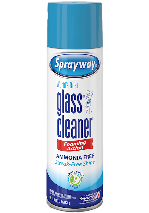Sprayway Ammonia Free Glass Cleaner 19oz can
