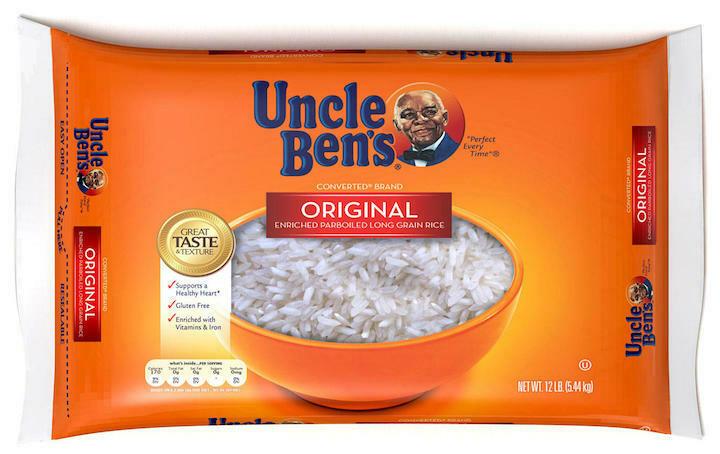 Uncle Ben's rice 12 lbs