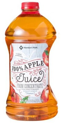 100% Apple Juice (Member's Mark) 2.84L