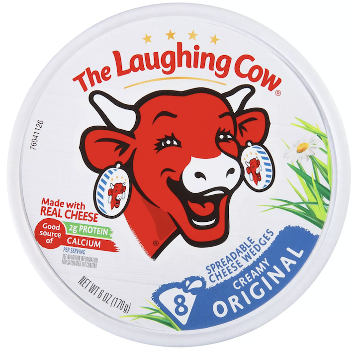 The Laughing Cow Original Creamy Spreadable Cheese Wedges 6oz