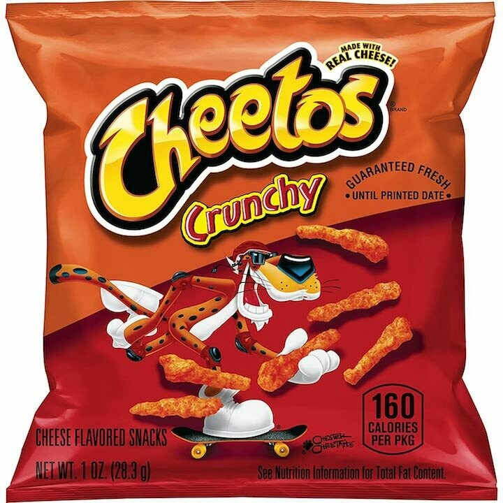 Cheetos Crunchy Cheese Flavored Snack