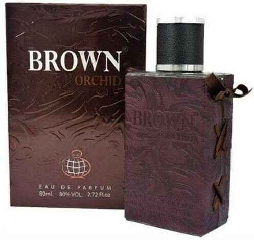 Brown Orchid Men Cologne Perfume 80ml