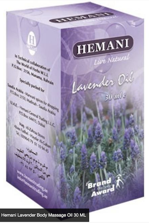 Lavender Body Oil 30ml